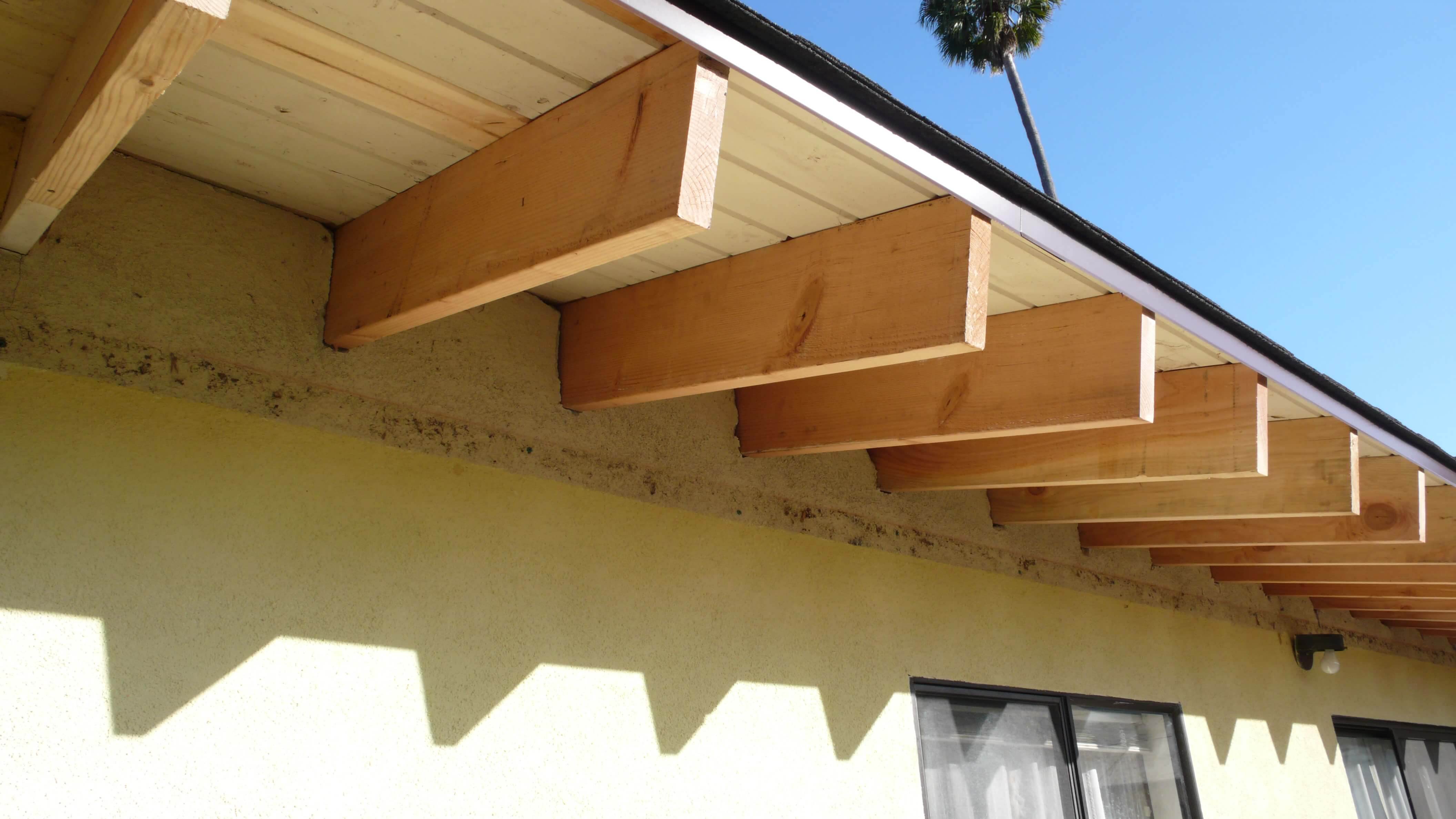 Replace Roof Rafter Tails Best Image Nikotub Com